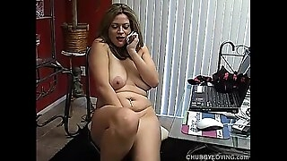Brutal talking chubby amateur